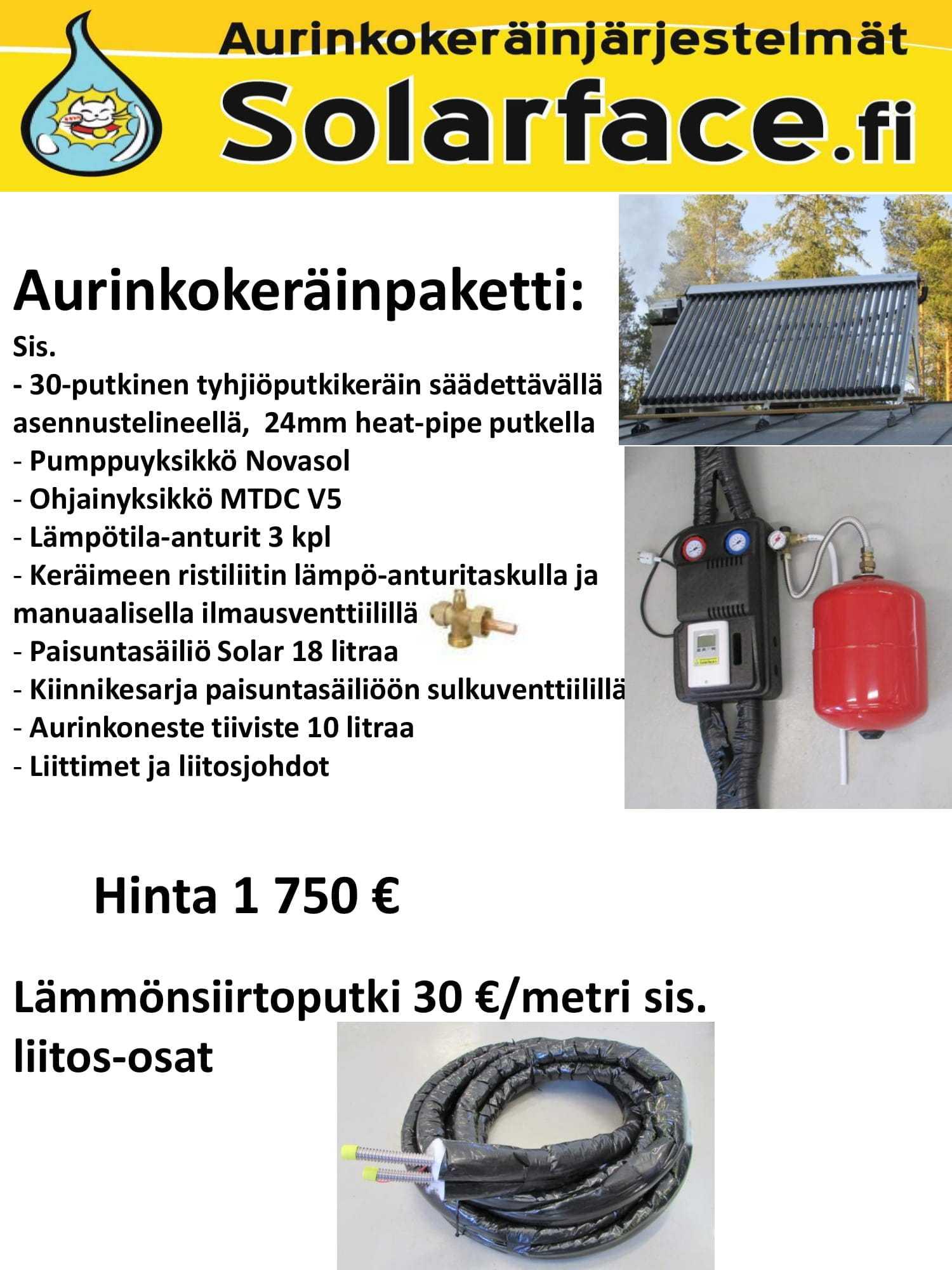 Aurinkokeräinpaketti